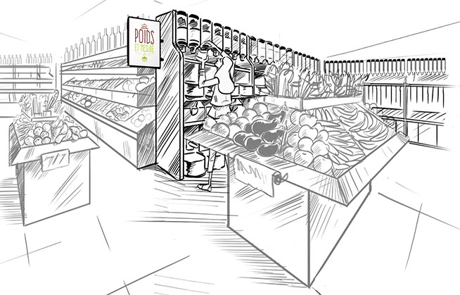 Le Shop-in-shop vrac : choix, qualité et origines